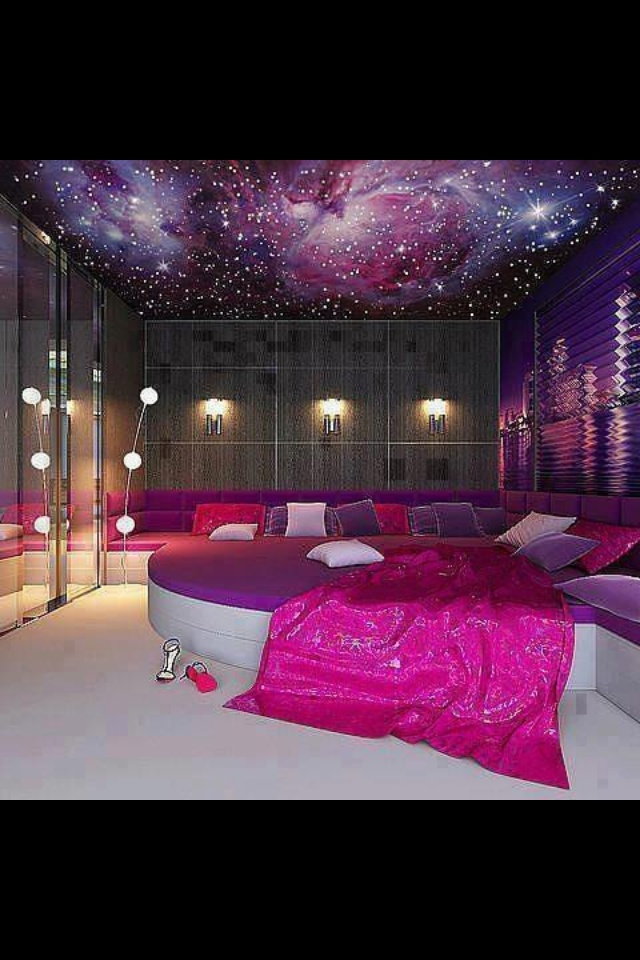 Room Girls Galaxy  Dream Rooms  Pinterest  Kid I want and I love