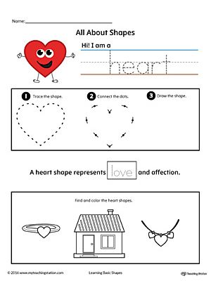 All About Heart Shapes In Color