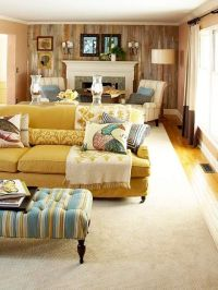 Working With: A Long, Narrow Living Room | Narrow Living ...
