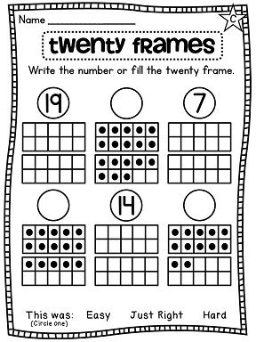 109 Best images about Math-Tens Frame/Number Sense on
