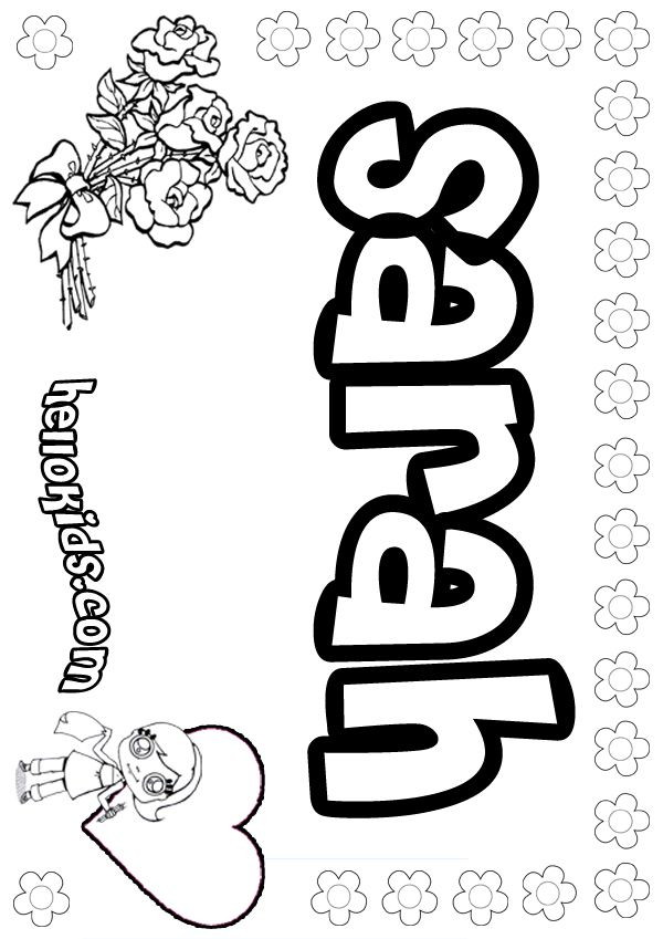 1000+ ideas about Name Coloring Pages on Pinterest