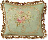 French pillow | French Aubusson Cartoons and tapestry ...