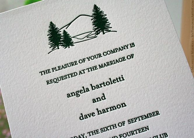 What Goes On A Wedding Invitation