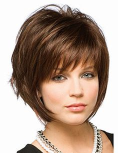 25 Best Ideas About Layered Bob With Bangs On Pinterest Very