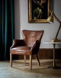 Best 20+ Brown leather chairs ideas on Pinterest   Leather ...