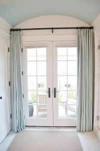 17+ best ideas about French Door Curtains on Pinterest ...