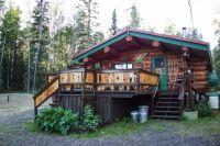 Living Off The Grid In Alaska Cabin