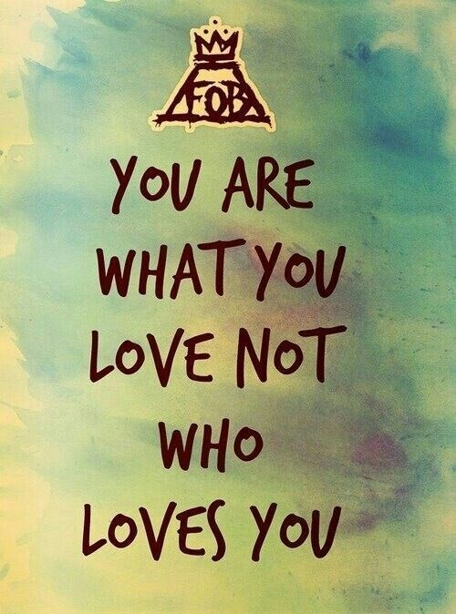 M A N I A Wallpapers Fall Out Boy 17 Best You Rock Quotes On Pinterest You Are Loved You