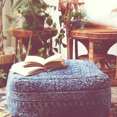 Good Sofa Covers Palliser Warranty Modelli Creations Indigo Pouf At Free People Clothing ...