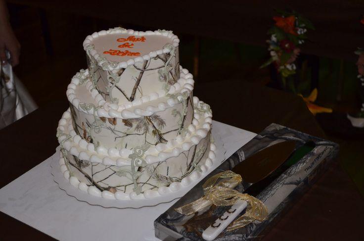Camo Dairy Queen Wedding Cake Camo Wedding Pinterest