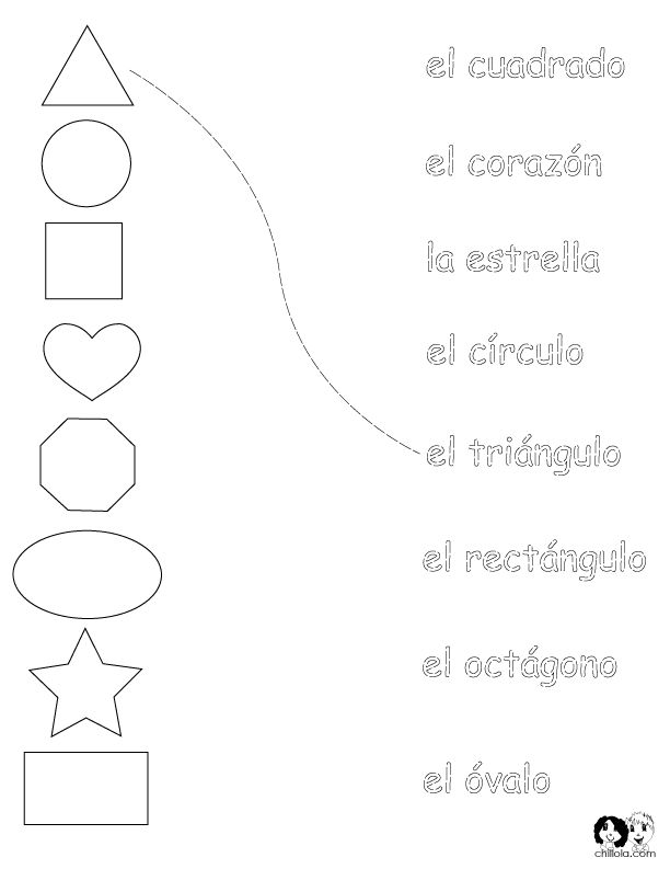 27 best images about Spanish Worksheets // Level 1 on