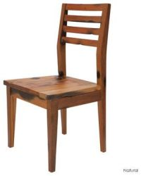 Simple rustic wooden dining chair   A Whimsy   Pinterest ...