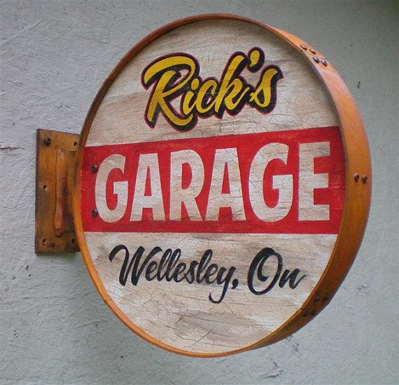 1000 ideas about Garage Signs on Pinterest  Metal Signs
