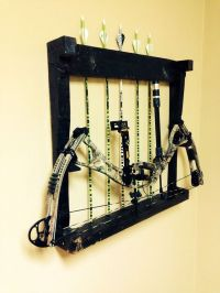 25+ best ideas about Bow rack on Pinterest | Archery ...