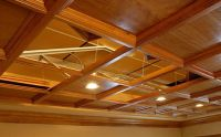 Suspended Wood Ceiling Pictures to Pin on Pinterest