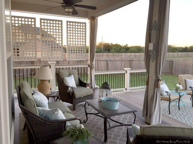 17 Best Ideas About Porch Privacy On Pinterest