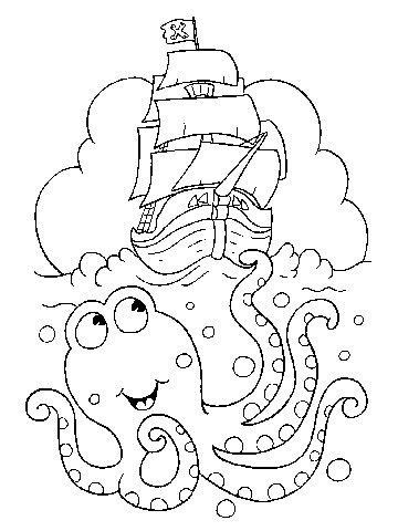 141 best images about Under the Sea Color Pages/Printouts