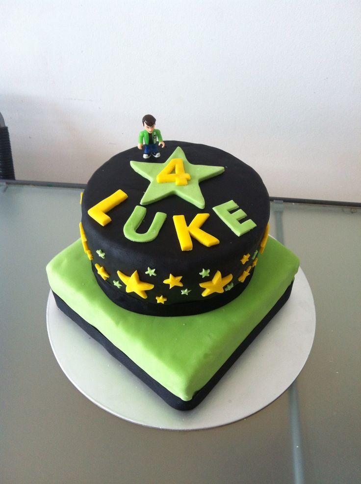 Ben 10 Cake Super Hero Ben 10 Pinterest Ben 10 Cake