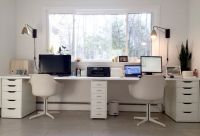 25+ best ideas about Double Desk Office on Pinterest