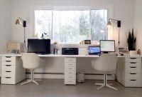 25+ best ideas about Double Desk Office on Pinterest ...