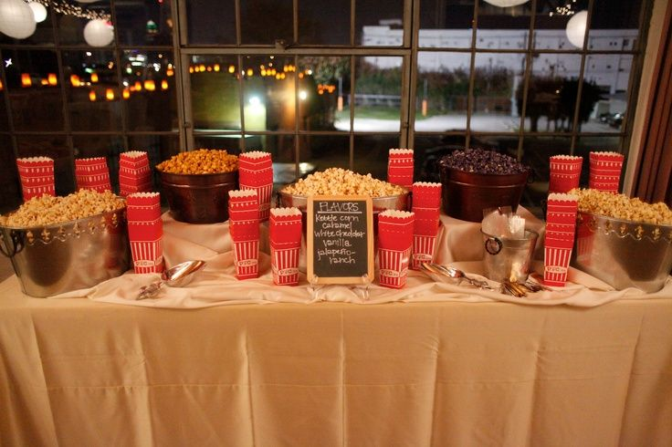 17 Best Ideas About Wedding Snack Tables On Pinterest