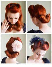 ideas 1940s hair