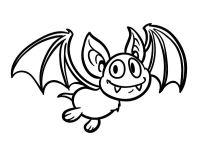 Dibujo de Murcilago - vampiro para colorear | Dibujos de ...
