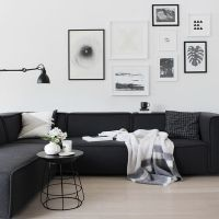 Best 20+ Black couch decor ideas on Pinterest