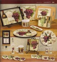 17 Best images about Grape/Grapevine Kitchen on Pinterest