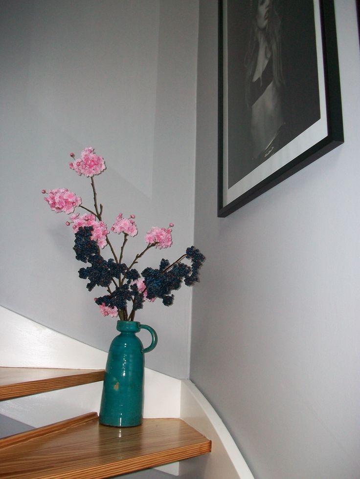 Abigail ahern cherry blossom vase flower chic shadow