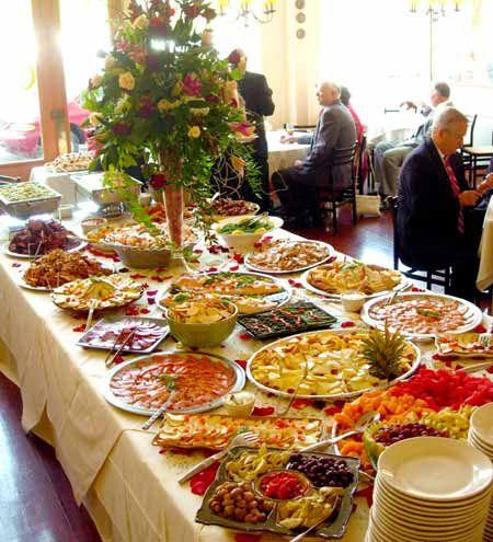 Wedding buffet  Wedding Food  Drinks  Receptions  Pinterest  Buffet Weddings and Wedding foods