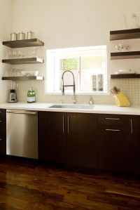 shelves instead of upper cabinets | Favorite Places ...