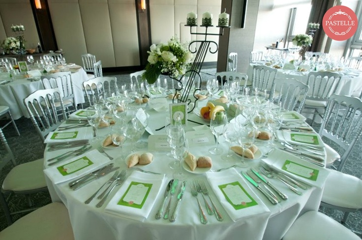 Music & Mint, Green Wedding Decoration, Centerpiece