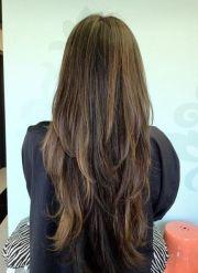 layered & long cut