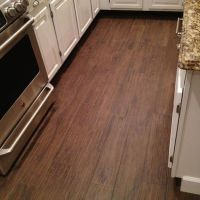 Matching grout. Porcelain Plank Wood Look Tile.... No