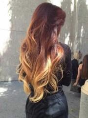 auburn ombre hair