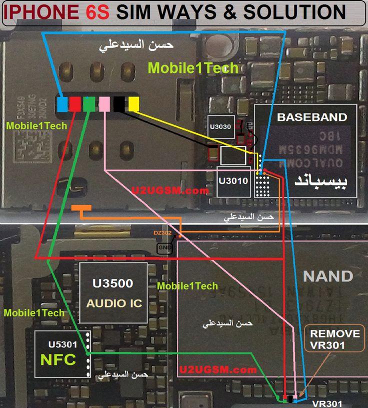 Service Manuals Iphone 4s Circuit Diagram Service Maunual Schematic 4