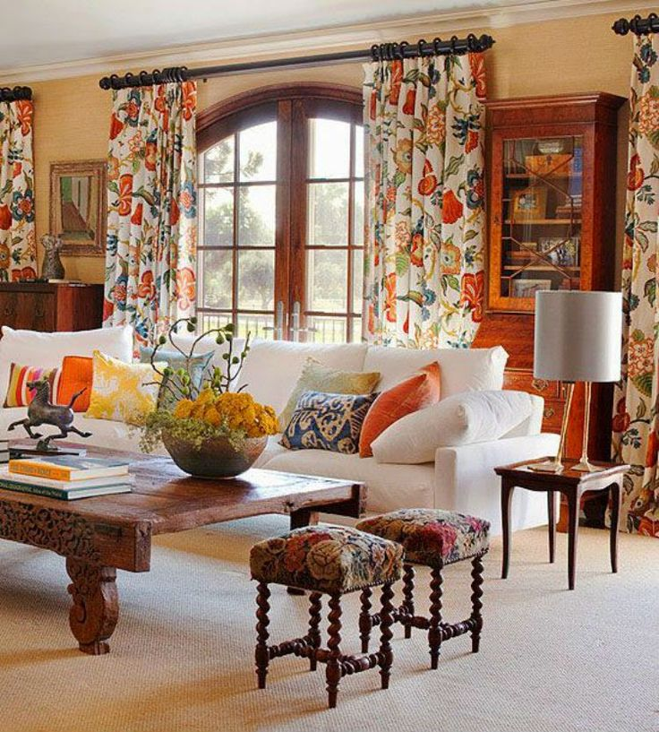 17 Best ideas about Orange Living Rooms on Pinterest