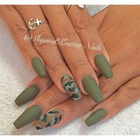 Coffin nails, Olive green and Olives on Pinterest