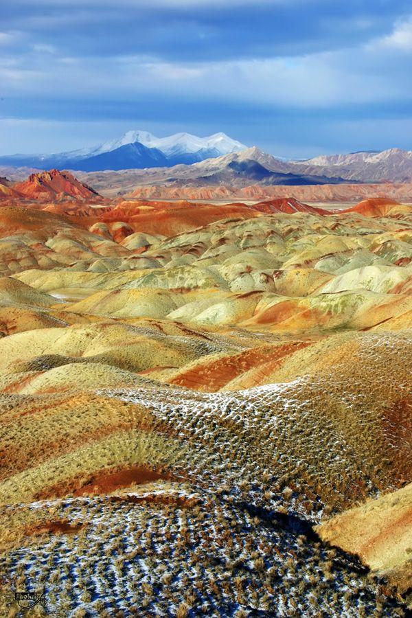 Colorful Mountains  Tabriz Iran  Tabriz Iran