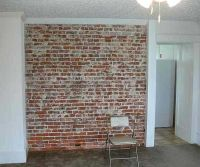 Dining Room: Interior Brick Wall | Farmhouse | Pinterest ...