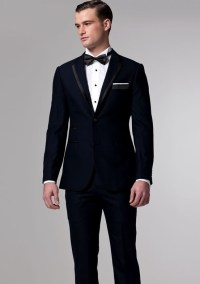 Groom's Navy Tuxedo & Bow Tie | Wedding | Pinterest ...