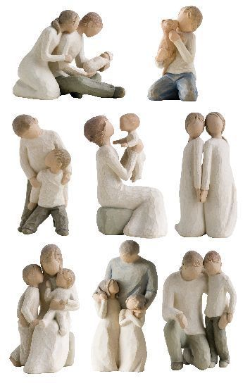 17 Best Images About Willow Tree Figurinesbeautiful To