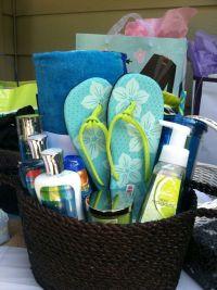 17 Best ideas about Beach Gift Baskets on Pinterest ...