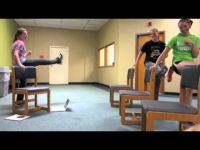 Chair Aerobics | Low Impact workouts | Pinterest | Chairs ...