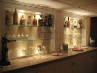 glass bar shelves | For the Home | Pinterest | Shelves ...