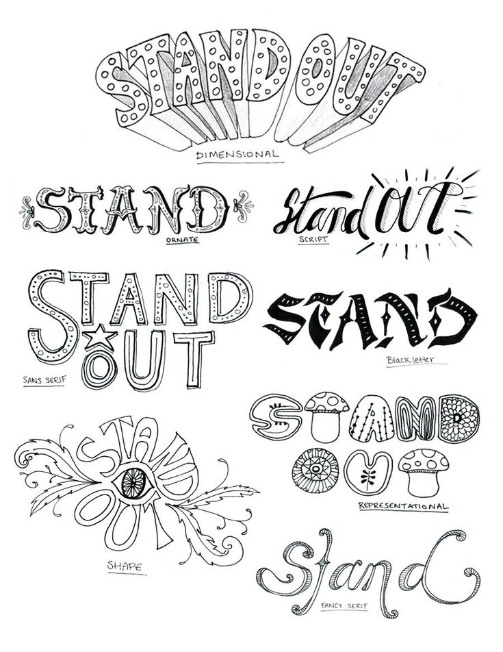 1000+ images about Hand Lettering & Typography on