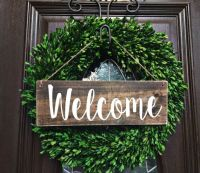 25+ best ideas about Door Signs on Pinterest | Wooden door ...