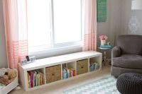 Under window storage bench | Nursery Ideas | Pinterest ...