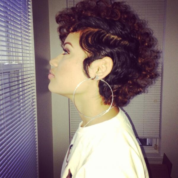 Latest Hairstyle Curly Mohawk Hairstyles Inspiring Photos Of
